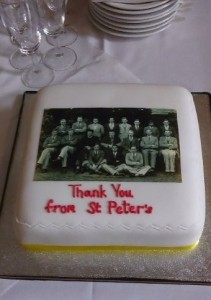 St Peter's Thank You Cake