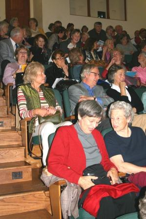 Audience at first meeting