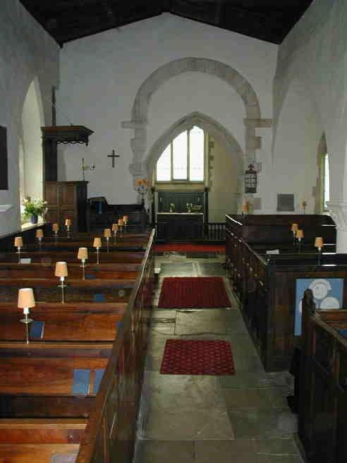 St Mary the Virgin Waterperry - interior