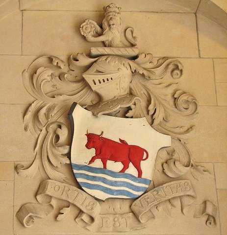 Oxford City Coat of Arms Ox and Ford