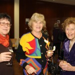Liz Hunter and Dorothy Whittington and Sue Warley and her amazing technicolour dream jumper